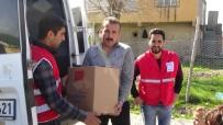 BATMAN BELEDIYESI - Batman Belediyesi Ve Kızılay'dan Ezidilere Yardım