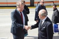 AVRUPA KONSEYİ - Büyükelçi Berger, Başkan Büyükerşen'i Ziyaret Etti