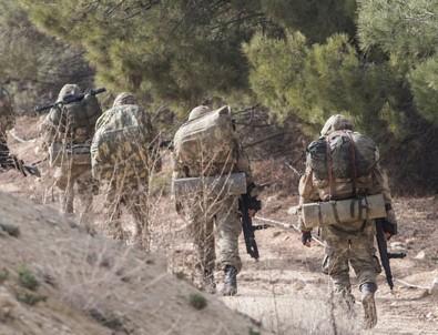 Cinderes'te 1 askerimiz şehit oldu