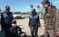 POLİS KAMERASI - Engelli Genç En Büyük Hayaline Kavuştu