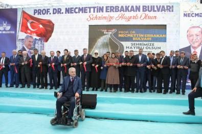Fatih Erbakan Babasının Adı Verilen Bulvarın Açışına Katıldı