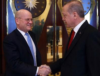 Erdoğan General Electric CEO'sunu kabul etti