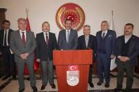 ALİ HAMZA PEHLİVAN - Gümrük Ve Ticaret Bakanı Tüfenkci İle Maliye Bakanı Ağbal, Bayburt Valiliği'ni Ziyaret Etti