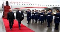 AZERBAYCAN CUMHURBAŞKANI - Gürcistan Başbakanı Bakü'de