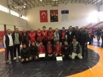 GÜREŞ - İncirliova Spor Lisesi Kemer'den 11 Madalya İle Döndü