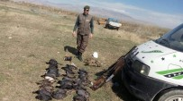 KAÇAK AVCI - Kaçak Avlanan 5 Kişi Yakalandı