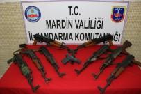 PLASTİK PATLAYICI - Mardin'de 1 Ton Patlayıcı Ele Geçirildi