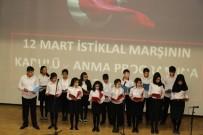CEYHUN DİLŞAD TAŞKIN - Mehmet Akif Ersoy Siirt'te Törenlerle Anıldı