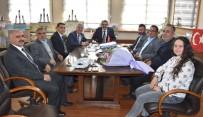 İBRAHIM TAŞDEMIR - Nazilli Manavlar Esnaf Odası Başkan Alıcık'ı Ziyaret Etti