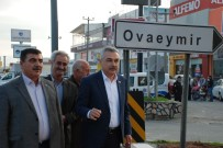 YENIKÖY - Sürekli Kazaların Yaşandığı Ovaeymir Kavşağı Işıklandırıldı