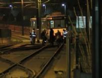 TOPKAPı - Topkapı'da tramvay raydan çıktı