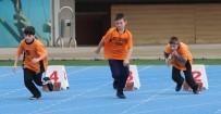 Trabzon'da Özel Sporcular Yarıştı