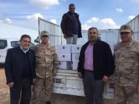 FINDIK EZMESİ - Trabzon Ticaret Borsası'ndan Afrin Harekatı İçin 5 Bin Kutu Fındık Ezmesi