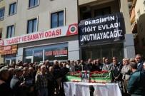 BEYİN KANAMASI - Tunceli TSO Başkanı Cengiz Son Yolculuğuna Uğurlandı
