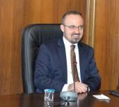 ADLİYE BİNASI - Turan, 'Yeni Adliye Binamız Hayırlı Olsun'