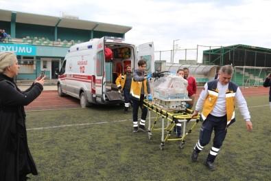 2 Günlük Bebek Helikopter Ambulansıyla Ankara'ya Sevk Edildi