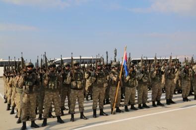 660 Asker Ve Korucu Afrin'e Uğurlandı