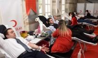 İNFAZ KORUMA - Adana Adliyesinde Kan Bağışı Kampanyası