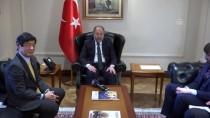 JAPONYA BAŞBAKANI - Başbakan Yardımcısı Akdağ, Japonya Büyükelçisini Kabul Etti