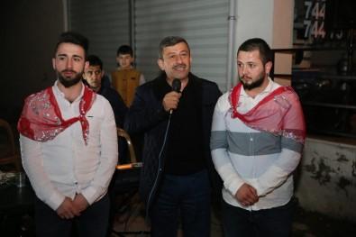 Başkan Karabacak, Darıcalı Mehmetçikleri Uğurladı