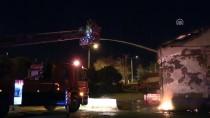 TOPTANCI HALİ - Çanakkale'de Sebze Ve Meyve Halinde Yangın