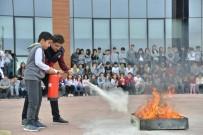 BAHÇEŞEHIR - Diyarbakır'da Öğrencilere İtfaiye Eğitimi Verildi