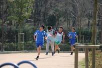 ÖZGECAN ASLAN - Eyüpsultanlı Gençler Kaymakamlık Kros Koşusunda Buluştu