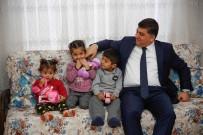 RıDVAN FADıLOĞLU - Fadıloğlu Yavuz Ve Yunus Bebekleri Ziyaret Etti