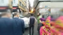 DOĞALGAZ BORUSU - Fatih'te doğalgaz borusu patladı, vatandaş sokağa döküldü