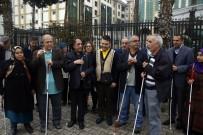 GÖRME ENGELLİ - Görme Engellilerden 'Beyaz Baston' Raporuna Tepki