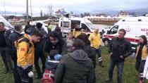 ÖĞRENCİ SERVİSİ - GÜNCELLEME - Kırklareli'de İki Öğrenci Servisi Çarpıştı Açıklaması 15 Yaralı