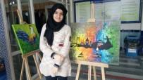UMUTLU - Iraklı Genç Kız Savaş Anılarını Unutmak İçin Resim Yapıyor