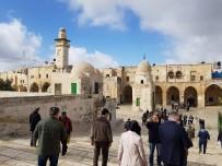 AĞLAMA DUVARı - İstanbul Büyükşehir Belediyesi Meclisi Üyelerinden Kudüs'e Ziyaret