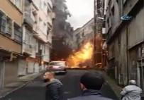 DOĞALGAZ BORUSU - İstanbul'da Korkutan Patlama !