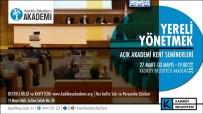 YEREL YÖNETİM - Kadıköy'de  'Yereli Yönetmek' Seminerleri Başlıyor