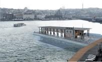 KARAKÖY - Karaköy İskelesi Yerine Yapılan Yüzer İskelenin Animasyon Fotoğrafları Ortaya Çıktı