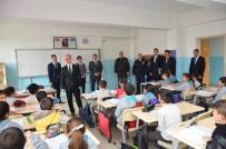 BOZÜYÜK BELEDİYESİ - Kaymakam Yaman Ve Başkan Bakıcı'dan Okul Ziyaretleri