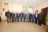 FARUK AYDıN - KONESOB Başkanı Karamercan Başkan Özaltun'u Ziyaret Etti