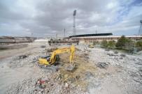 KÜLTÜRPARK - Konya Eski Stadyumda Yıkım Başladı