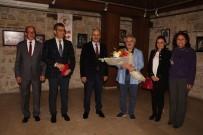 KUŞADASI BELEDİYESİ - Kuşadası'nda ' Mavi Ve Ötesi ' Resim Sergisi Açıldı
