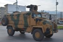 POLİS ÖZEL HAREKAT - Mayına Dayanıklı Kirpiler Afrin'e Sevk Ediliyor