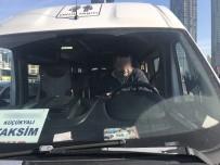 SİGARA İZMARİTİ - (Özel) Zincirlikuyu'da 'Bonzai' Etkisindeki Servis Şoförü Direksiyon Başında Sızdı