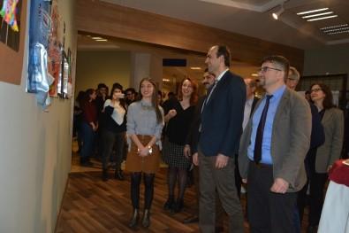 PAÜ'de '8 Mart Dünya Kadınlar Günü' Sergisi Açıldı
