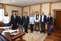 TANITIM FİLMİ - Sağlık Bakanlığı Müsteşar Yardımcısı Kazancı'dan, Rektör Gündoğan'a Teşekkür Ziyareti