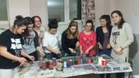 EBRU SANATı - Samsun'da Yabancı Öğrencilere 'Ebru' Dersi