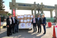 NENE HATUN - Sivil Memurlardan Mehmetçik'e Temizlik Malzemesi Yardımı