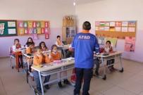 AFET BİLİNCİ - Tunceli'de Öğrencilere Afet Bilinci Eğitimi