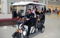 SITKI KOÇMAN ÜNİVERSİTESİ - Yaşlı Ve Engelli Hastalara Golf Araçlı Hizmet