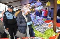 BOZÜYÜK BELEDİYESİ - Zabıtadan Balıkçılara Denetim