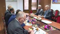 İBRAHIM EREN - AA Ve TRT'den AZERTAC'a Ziyaret